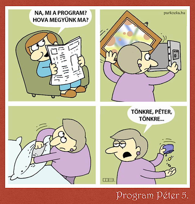 Program Péter 5. - Bélabátyó