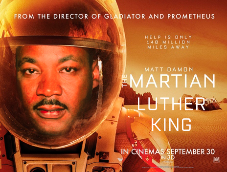 Martian Luther King - Plá